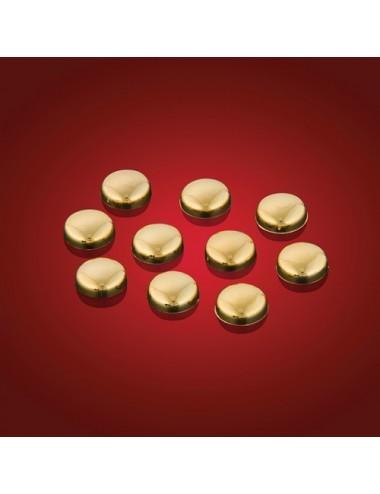 Zlaté krytky šroubků Honda...