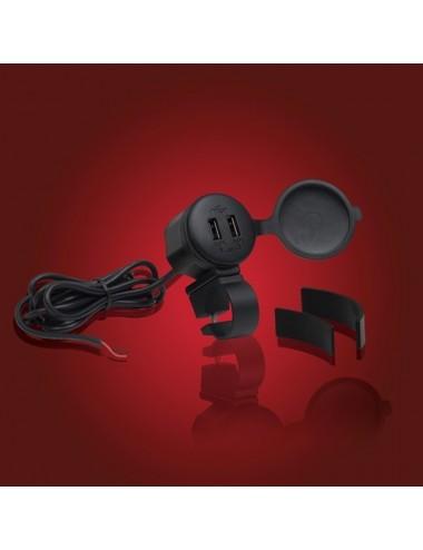 USB nabíječka na řídítka