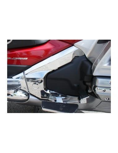 Chromovaný kryt rámu Honda...