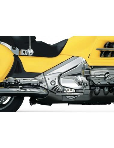 Chromované kryty rámu Honda...