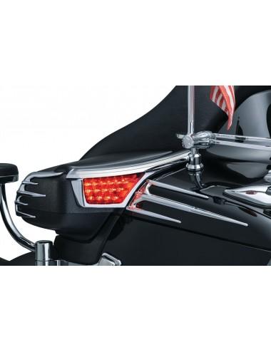 Chromovaný kryt s LED Honda...