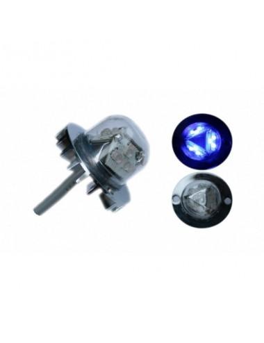 LED stroboskop H2100, modrý