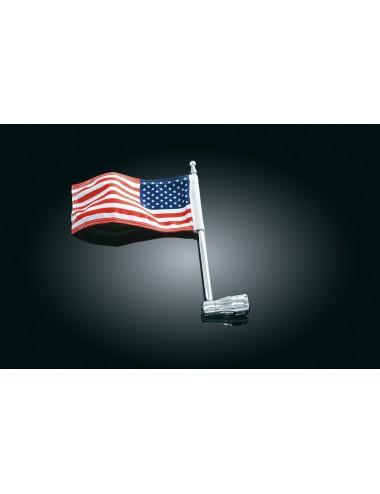 Držák vlajky na zadní nosič...
