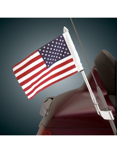 Vlajka USA s držákem na...