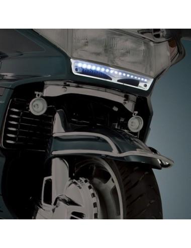 Chromovaná LED lišta pod...