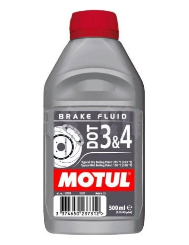 Brzdová kapalina Motul DOT...
